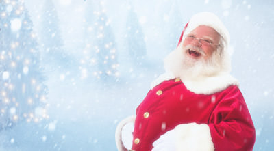 Professional headshot of Santa